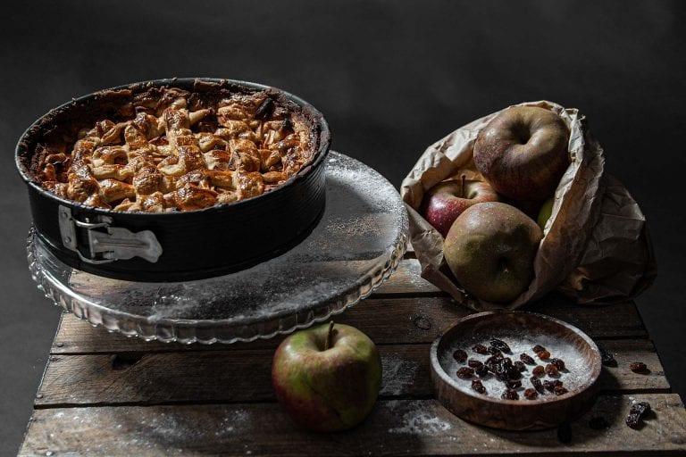 Foodfotografie appeltaart